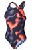 speedo LZR Allover Powerback Endurance 10 Swimsuit Women grey/charcoal